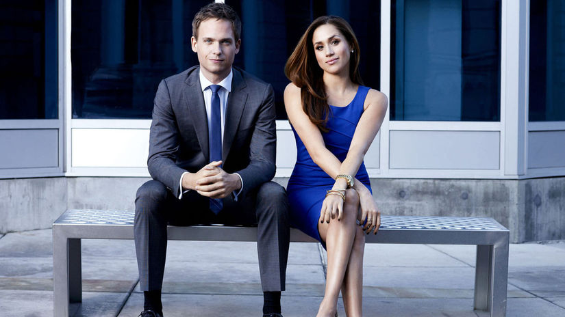 suits, kravaťáci, meghan markle, patrick j. adams,