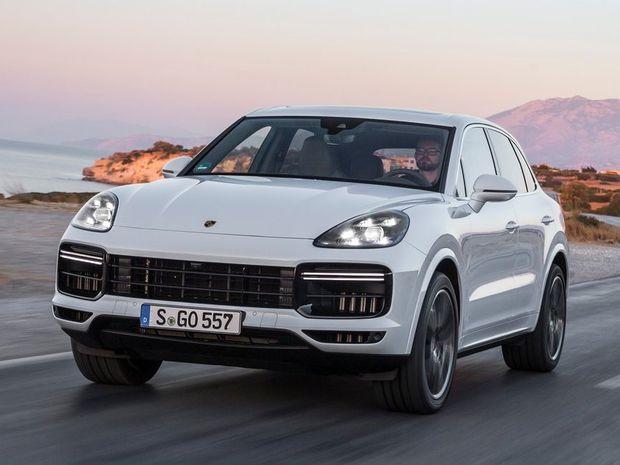 Porsche Cayenne Turbo - 2017