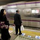 Japonsko, vlak, Osaka