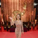 Speváčka Rita Ora pózuje pred štartom 69. ročníka cien Bambi.