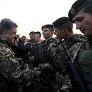 porošenko, ukrajina, vojaci