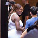 Tenistka Serena Williams na druhý deň ráno po svadbe s Alexisom Ohanianom.