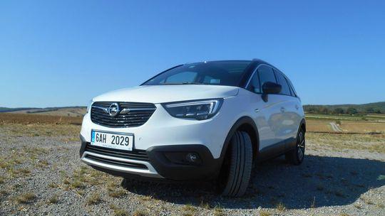 Test: Opel Crossland X 1,6 CDTI – módny crossover s dobrou spotrebou