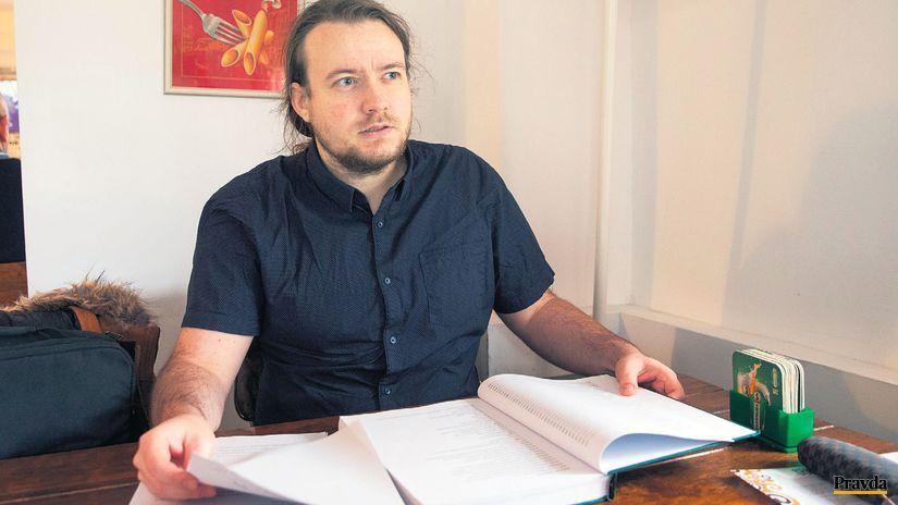Historik Michal Macháček.