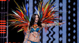 Brazílska topmodelka Adriana Lima v Šanghaji nechýbala.