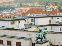 česko, úroky, mesto, panoráma