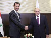 Putin na stretnutí s Asadom povedal, že boje v Sýrii sa chýlia ku koncu