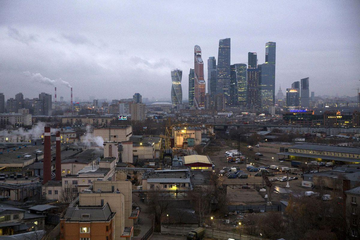 Rusko, Moskva, mrakodrapy, mesto