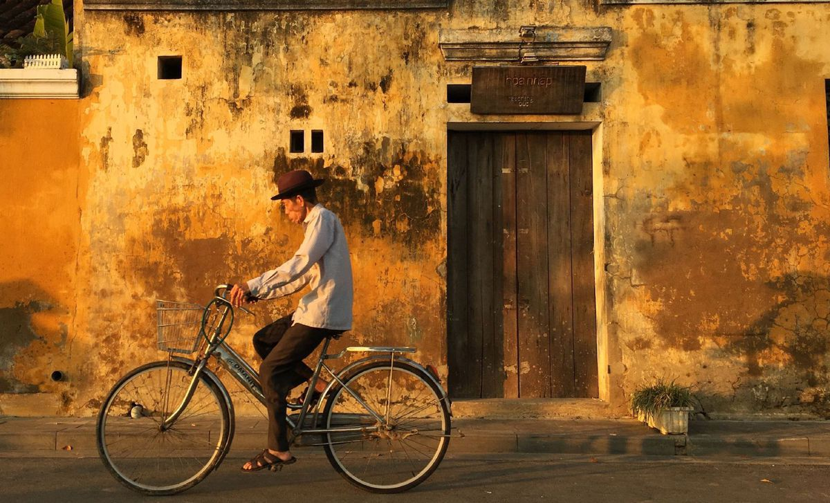Vietnam, bicykel, cyklista