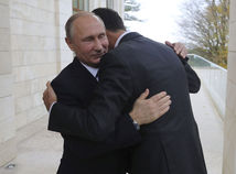 Vladimir Putin Bašar Asad objatie