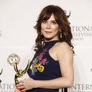 Herečka Anna Friel na nedávnom vyhlásení cien International Emmys.