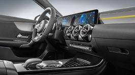 Mercedes-Benz A - interiér 2018