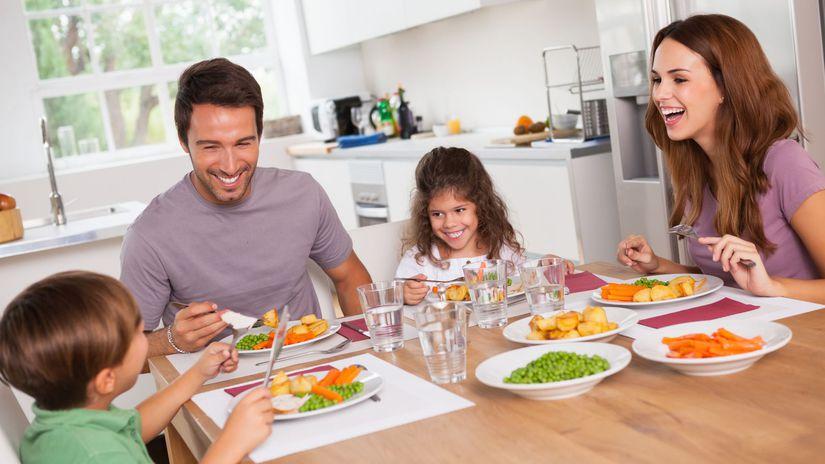 rodina, stravovanie