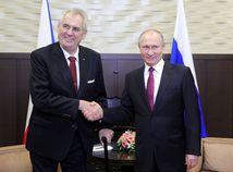 Vladimir Putin, Miloš Zeman