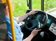 autobus, vodič, šofér