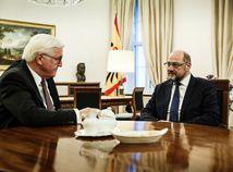 Martin Schulz a Frank-Walter Steinmeier