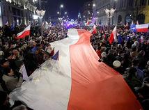 Poľsko, protest, reforma súdnictva