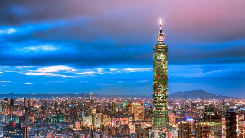 taipei, taiwan, mrakodrap, veža