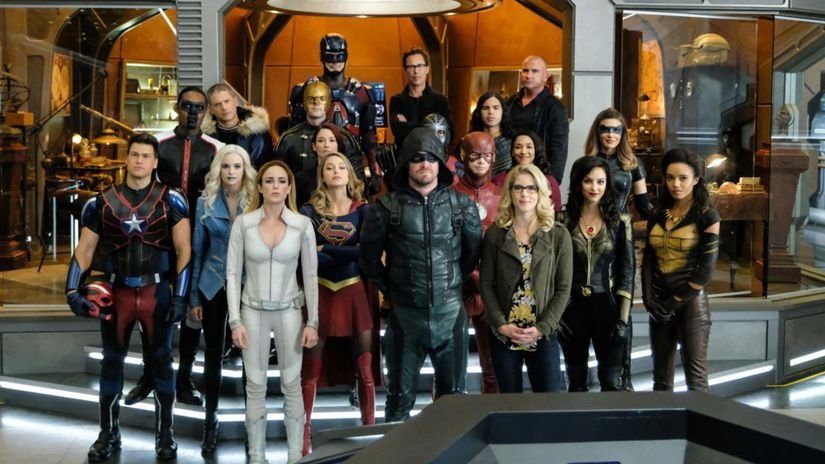 arrow, the flash, supergirl, legends of...