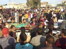 Teroristický útok na Sinaji neprežilo 235 ľudí, viac ako 125 je zranených