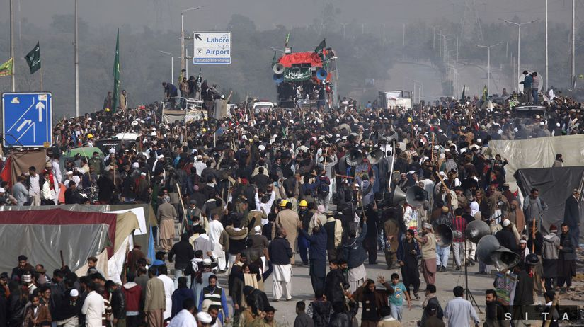 Pakistan, protest