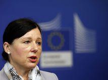 Von der Leyenová podporila Jourovú v spore s Orbánom