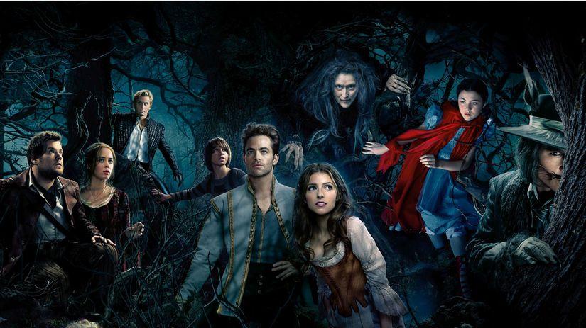 príbehy z lesov, into the woods,