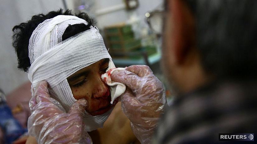 Sýria, Douma, IS