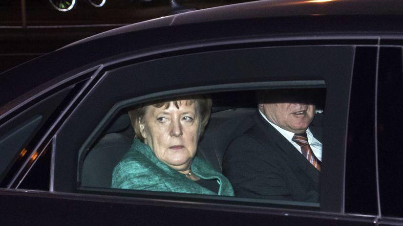 Angela Merkelová Horst Seehofer
