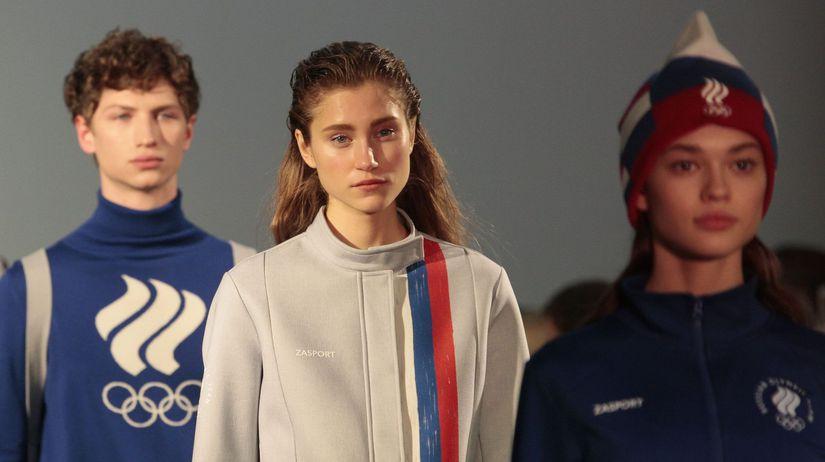 Olympijské oblečenie, Rusko, Pjongčang