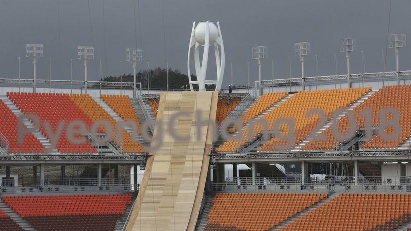 Pjongčang 2018, olympijský štadión