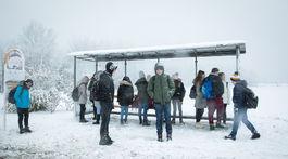 POčASIE: Snežženie na cestách