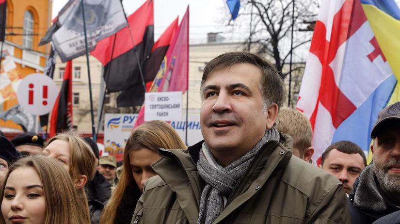 Ukrajina, protest, Saakašvili