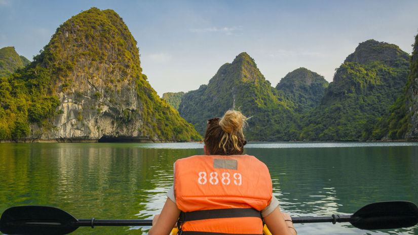 Zátoka Ha Long, Vietnam
