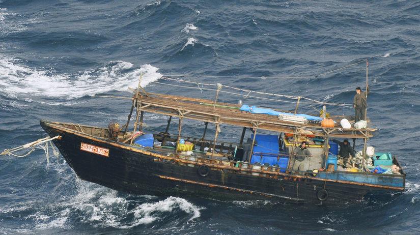 Japonsko loď Severná Kórea
