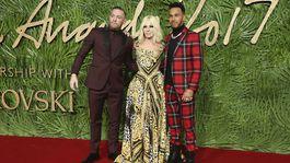 Conor McGregor, Donatella Versace, Lewis Hamilton