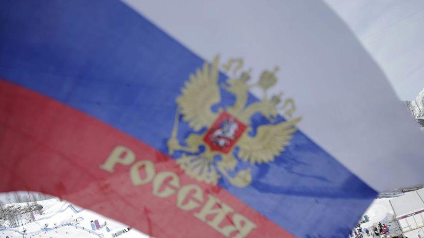 Rusko, vlajka, ilustračná
