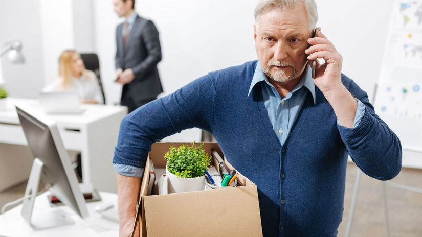 výpoveď, dôchodca, práca, nezamestnaný