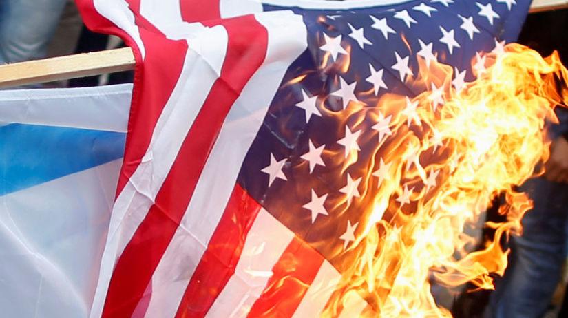 Americká zástava, Gaza