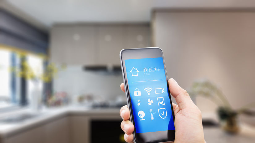 inteligentná domácnosť, mobil, smart