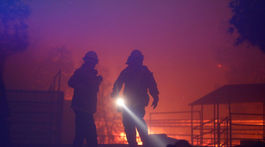 Kalifornia požiar hasiči