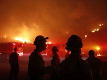 Kalifornia, požiar