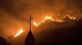 požiar, Kalifornia
