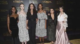 Aja Naomi King, Elle Fanning, Andie MacDowell, Liya Kebede, Eva Longoria a Camila Cabello