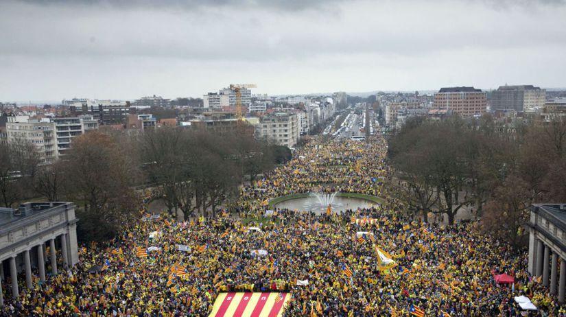 brusel, katalánsko