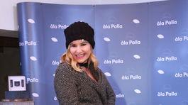 Herečka Monika Haasová.