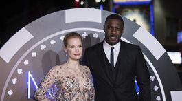 Idris Elba a herečka Jessica Chastain