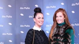 Karolína Čičátková (vľavo) a Eva Verešová