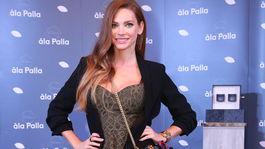 Na uvedenie kozmetiky pricestovala aj Andrea Verešová.