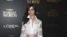 Speváčka Camila Cabello v New Yorku.